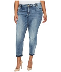 Kut From The Kloth Plus Size Reese Ankle Straight Leg In Motive Medium Base Wash Motive Medium Base Wash Women's Jeans Blue