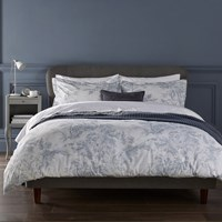 Christy Prestbury Duvet Set Soft Blue White