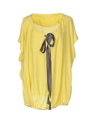 Attic And Barn Blouses Yellow