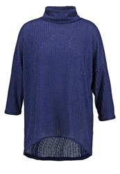 Wallis Slinky Jumper Navy Dark Blue