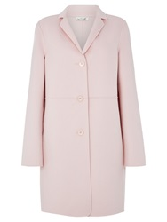Damsel In A Dress Arosa Wool Coat Powder Pink