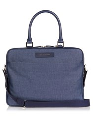Want Les Essentiels Haneda Canvas And Leather Laptop Bag