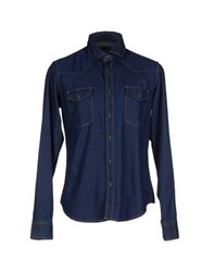 Baldessarini Denim Denim Shirts Men
