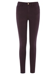 Warehouse Signature Skinny Jeans Berry