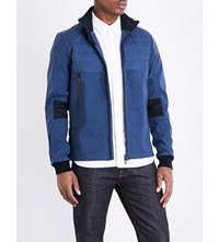 Canada Goose Jericho Down Filled Shell Bomber Jacket Marine Blue