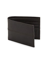 Cole Haan Slim Leather Wallet Chocolate