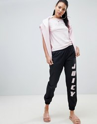 Juicy Couture By Logo Joggers Pitch Black