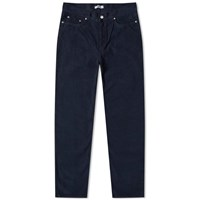Tres Bien 5 Pocket Cord Pant Blue