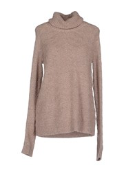 Vero Moda Knitwear Turtlenecks Women Light Brown