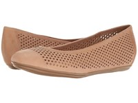 Naturalizer Becca Ginger Snap Worn Leather Women's Maryjane Shoes Beige