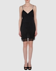 Ndegree 21 Short Dresses Black