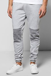 Boohoo Fit Ruched Panelled Joggers Grey
