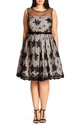 City Chic Plus Size Women's Ava Fit And Flare Dress