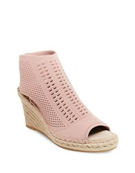 Steve Madden Evers Open Toe Wedges Nude