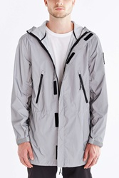 Icny Windbreaker Jacket Silver
