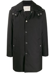Mackintosh Push Button Hooded Coat 60