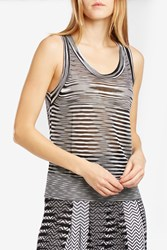 Missoni Women S Sleeveless Tank Top Boutique1 Black