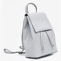 French Connection Carmen Backpack Grey Utility Blue