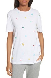 Etre Cecile 'S Tropical Icon Tee White