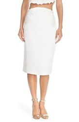 Women's Ted Baker London Embroidered Pencil Skirt