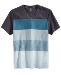 Inc International Concepts Men's Hedwig Striped V Neck T Shirt Only At Macy's