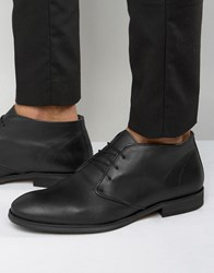 Selected Homme Bolton Buckle Boots Black
