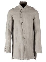The Viridi Anne High Collar Shirt Grey