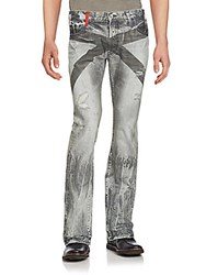 Prps Riot Distressed Jeans Light Grey