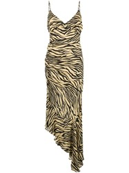 Nicholas Zebra Printed Dress Multicolour