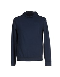 40Weft Topwear Sweatshirts Men Dark Blue