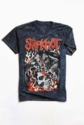 Urban Outfitters Slipknot Tee Washed Black