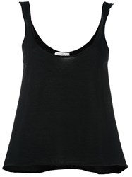 Le Kasha 'Hao' Knit Tank Top Black