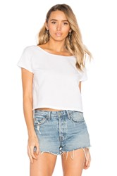 Lacausa Reversible Linen Top White