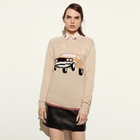 Coach Car Sweater Shell