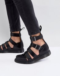 Dr. Martens Dr Geraldo Ankle Strap Sandals In Black