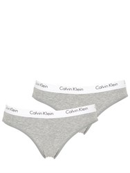 Calvin Klein Underwear 2 Pack Cotton Jersey Briefs