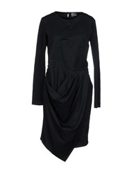 Malloni Short Dresses Dark Blue