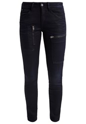G Star Gstar Powel Mid Skinny Slim Fit Jeans Slander Superstretch Black Denim