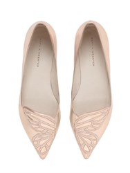 Sophia Webster 10Mm Bibi Metallic Leather Flats