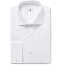 Alfred Dunhill White Cotton Oxford Shirt