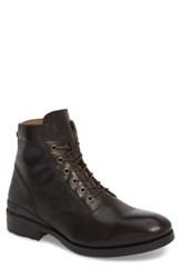 Fly London Marc Combat Boot Coffee Apso