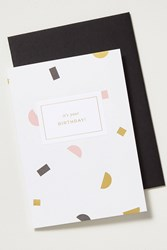 Anthropologie A L'aise Birthday Card Pink