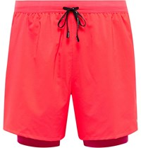 Nike Running Stride 2 In 1 Flex Dri Fit Shorts Red