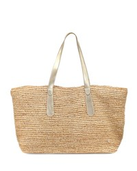 Flora Bella Big Sur Beach Tote Bag Beige