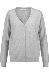 Duffy Cashmere Cardigan Light Gray