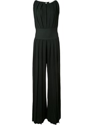 By. Bonnie Young Pleated Jumpsuit Green