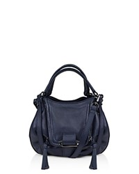 Kooba Mini Jonnie Crossbody Indigo Gunmetal
