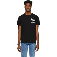 Moschino Black Double Question Mark T Shirt