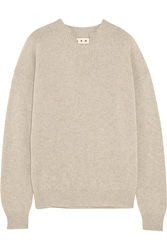 Marni Split Neck Cashmere Sweater