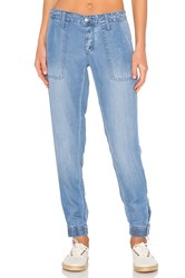 Joe's Jeans Flight Zip Ankle Blue